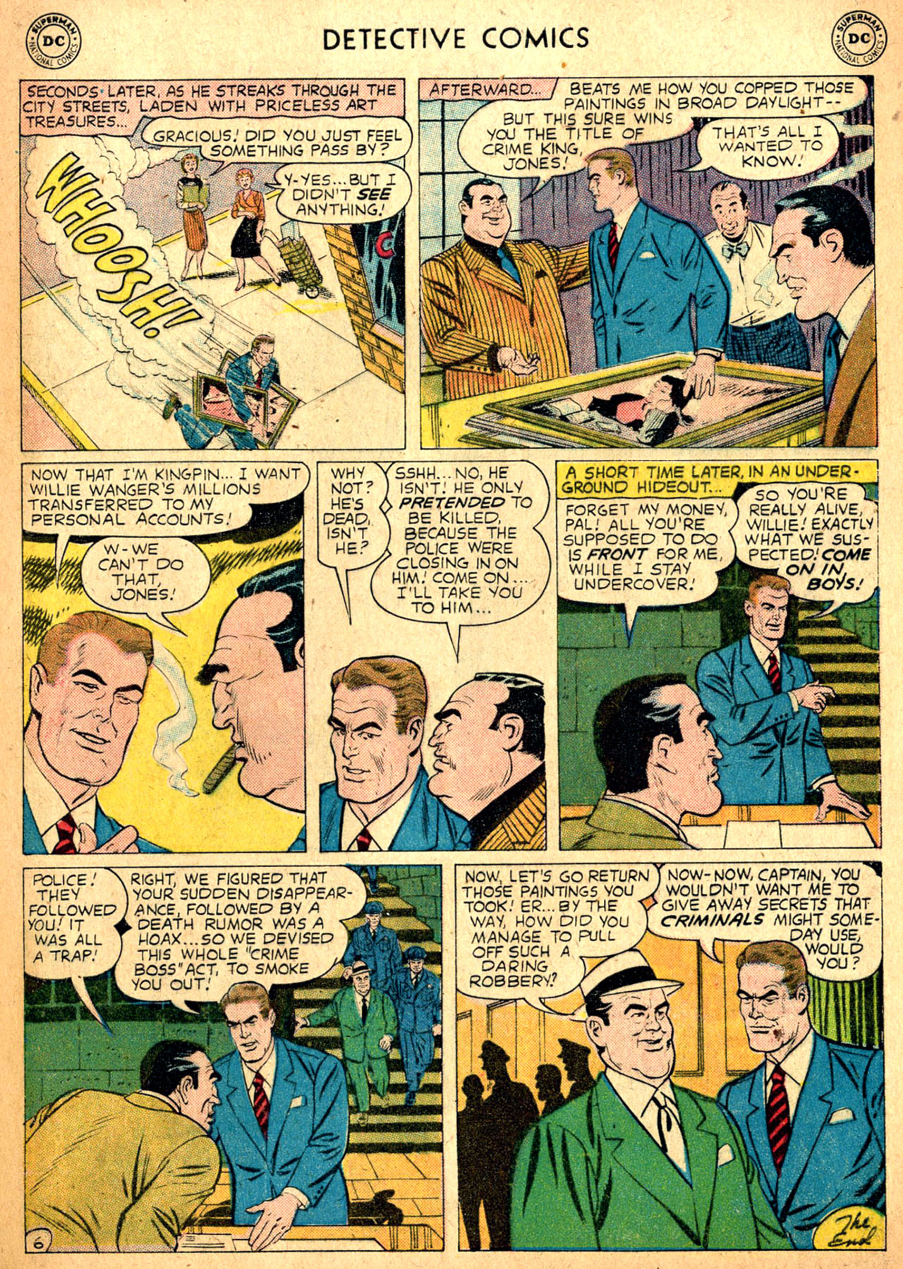 Read online Detective Comics (1937) comic -  Issue #257 - 32
