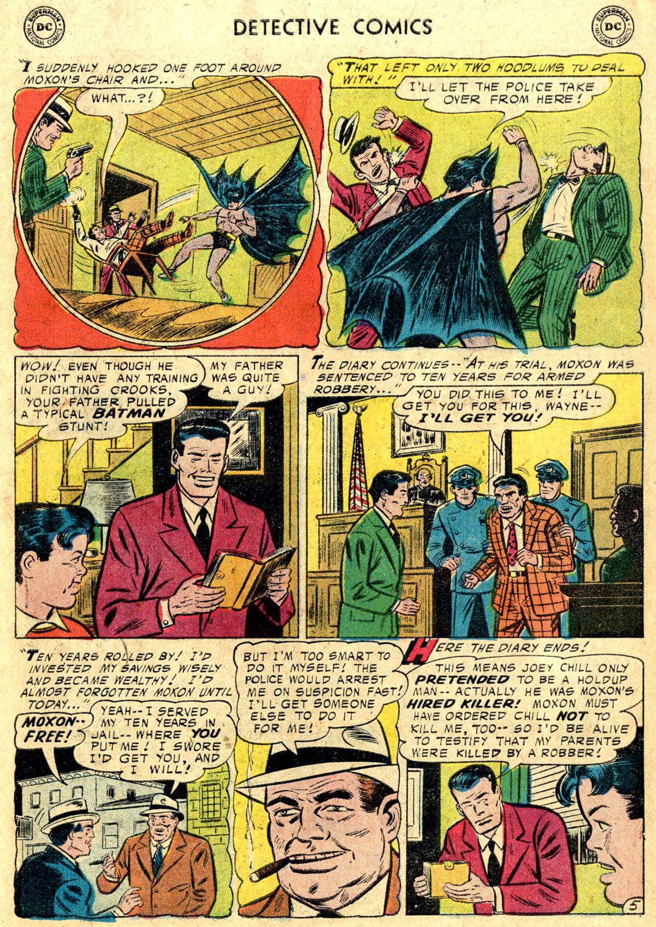 Read online Detective Comics (1937) comic -  Issue #235 - 7