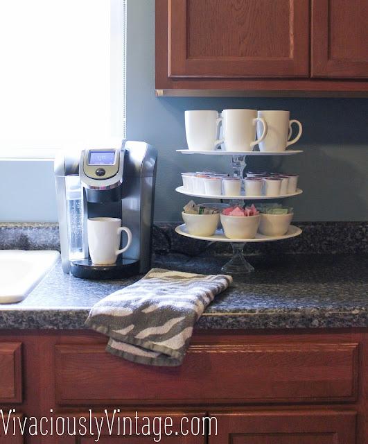 Simple DIY Cupcake or Coffee Stand! Coffee Station