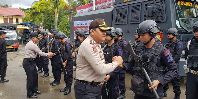 Brimob Detasemen B Pelopor Parepare Akan Bantu Amankan Pilgub di Toraja