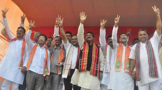 six-trinamool-congress-mlas-joined-bjp-in-tripur