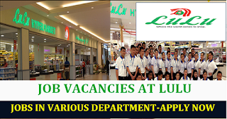 JOB IN LULU HYPER MARKET UAE - 2018