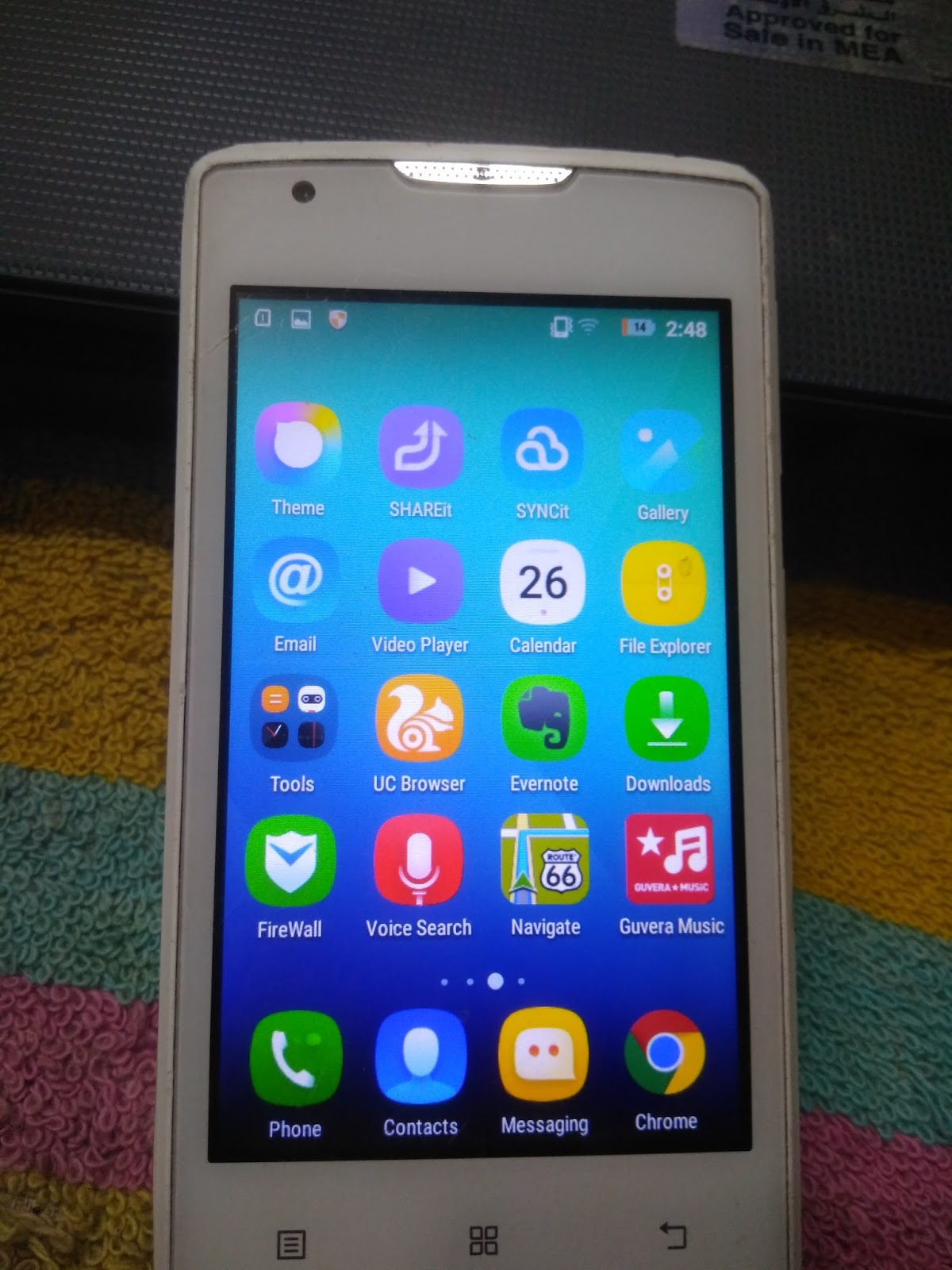 ALO TELECOM DHAKA BANGLADESH: LENOVO A1000 FLASH FILE After