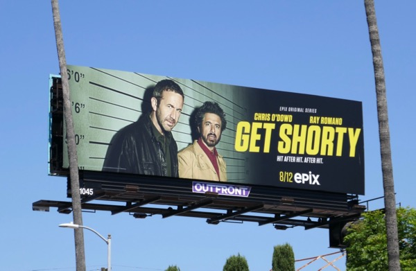 Get Shorty season 2 Epix billboard