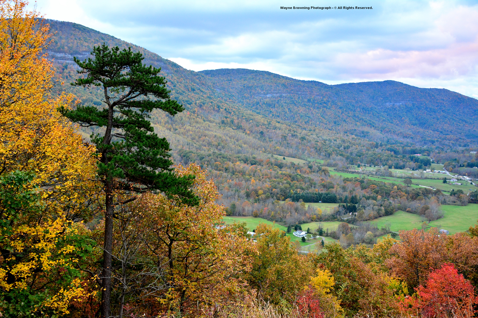The High Knob Landform: More Autumn Color Photographs In 2014