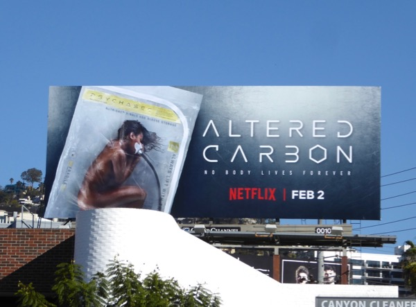 Altered Carbon series premiere billboard