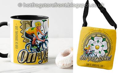 image of coffee mugs for Tour de Yorkshire