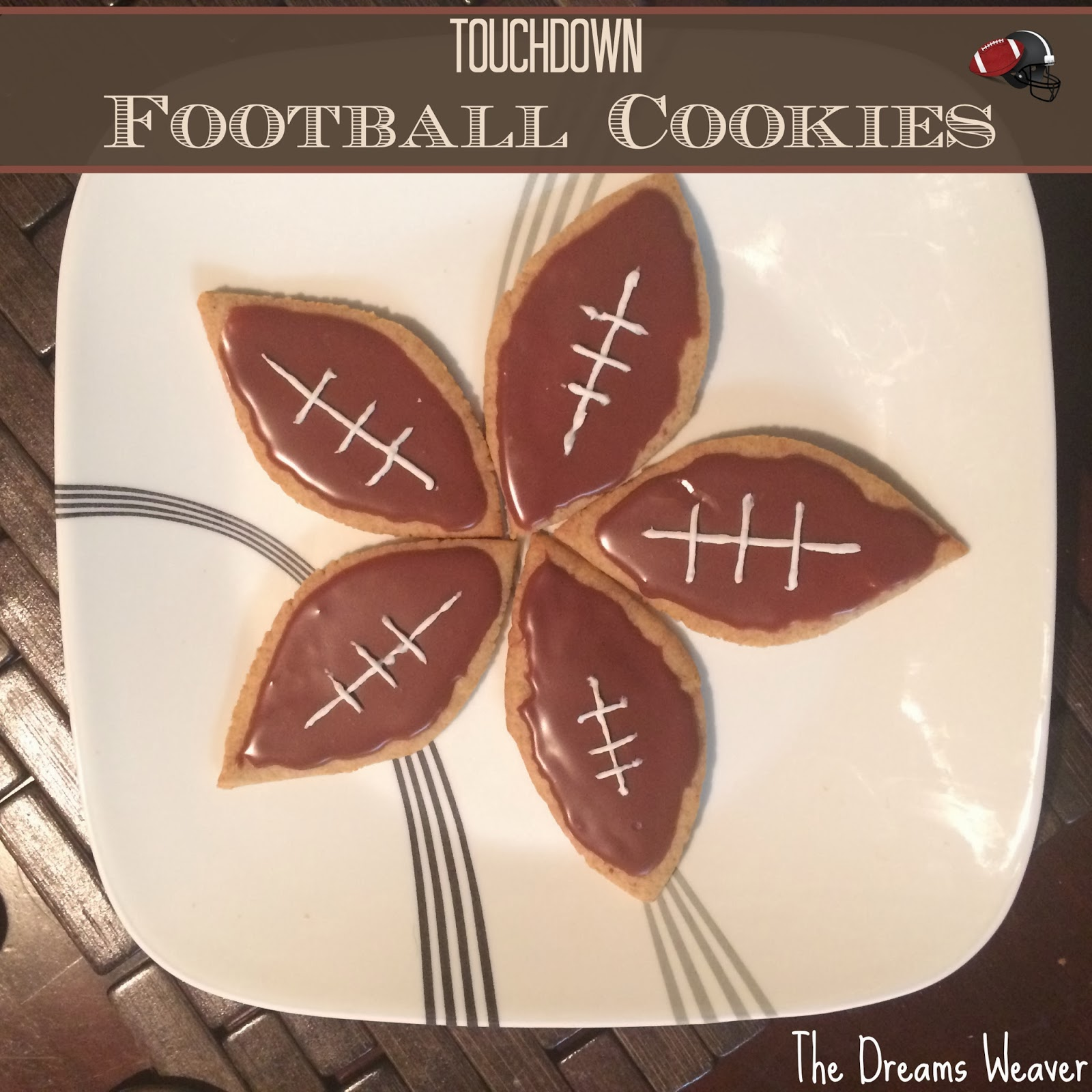Touchdown Football Cookies