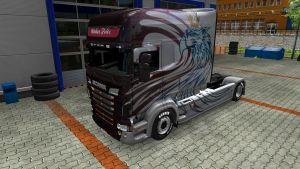 Walter Fritz skin for Scania RJL Longline by EviL