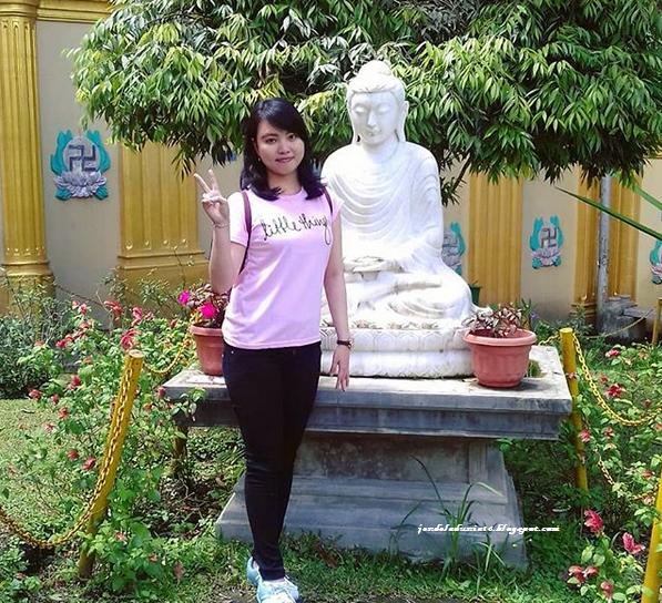 Pagoda Taman Alam Lumbini, Destinasi Wisata Religi Dan Spot Foto Menarik Di Daerah Berastagi