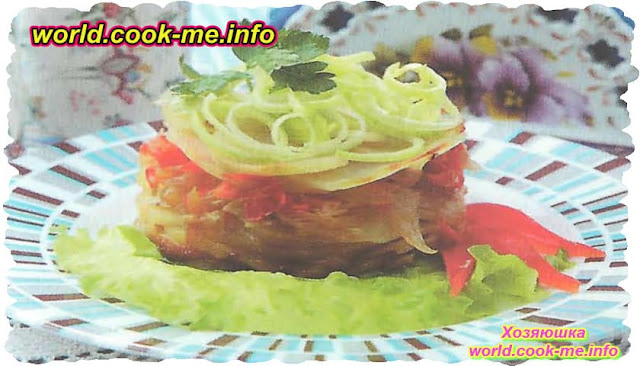 Картофельный салат с перцем