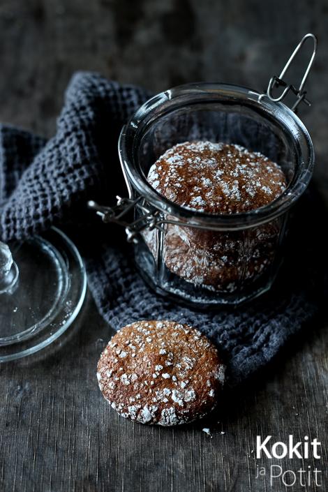 Pehmeät Suklaakeksit