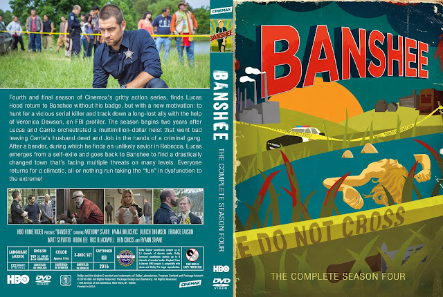Banshee Season 4 DVD Cover
