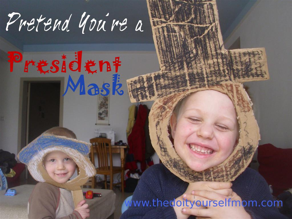 The Do It Yourself Mom President S Day Preschool Activity