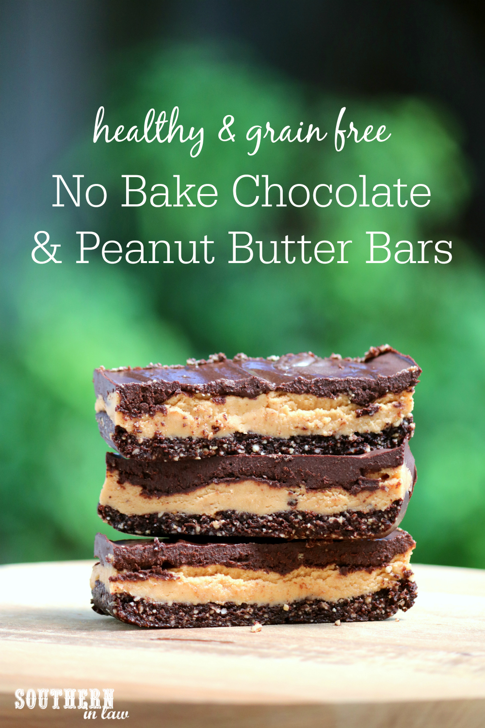 Southern In Law: Recipe: No Bake Chocolate and Peanut Butter