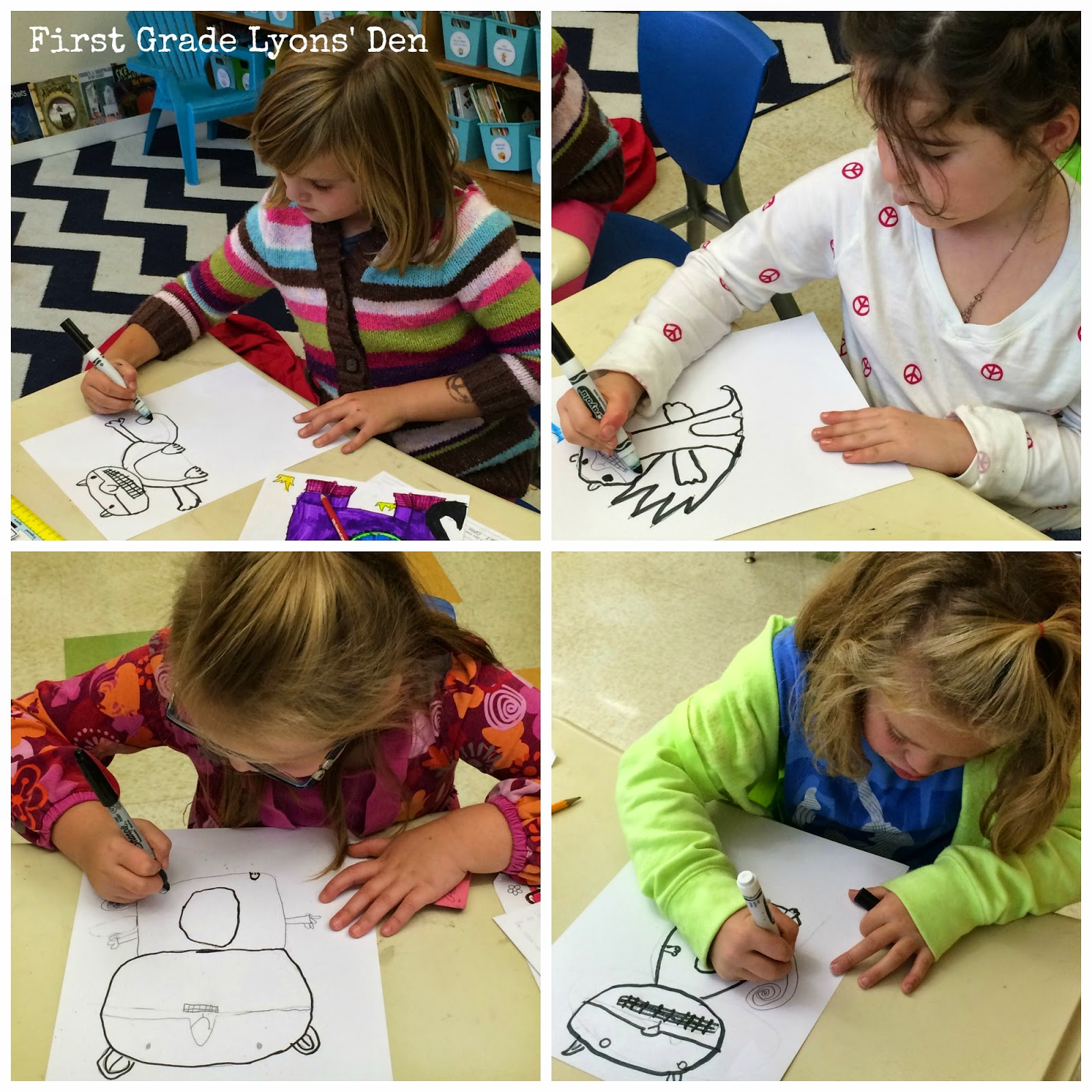 First Grade Lyons Den All About Squirrels And Take Home