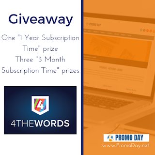 Giveaway: 4thewords Subscription Packages