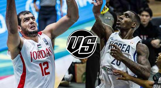 Live Streaming List: Korea vs Jordan 2019 FIBA World Cup Qualifiers Asia 5th Window
