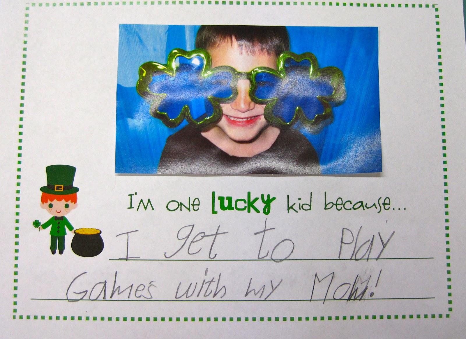 Kindergarten Superkids St Patrick S Day Freebie