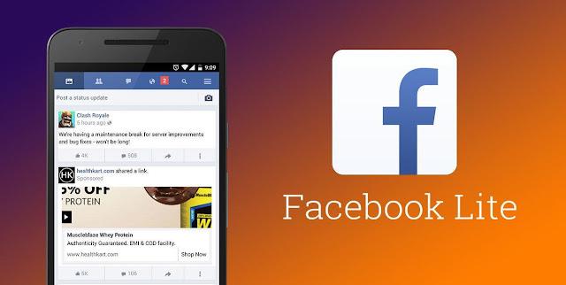 Contoh Facebook Lite