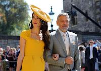 Harry e Meghan: George e Amal Clooney potrebbero essere il padrino e la madrina del Royal Baby