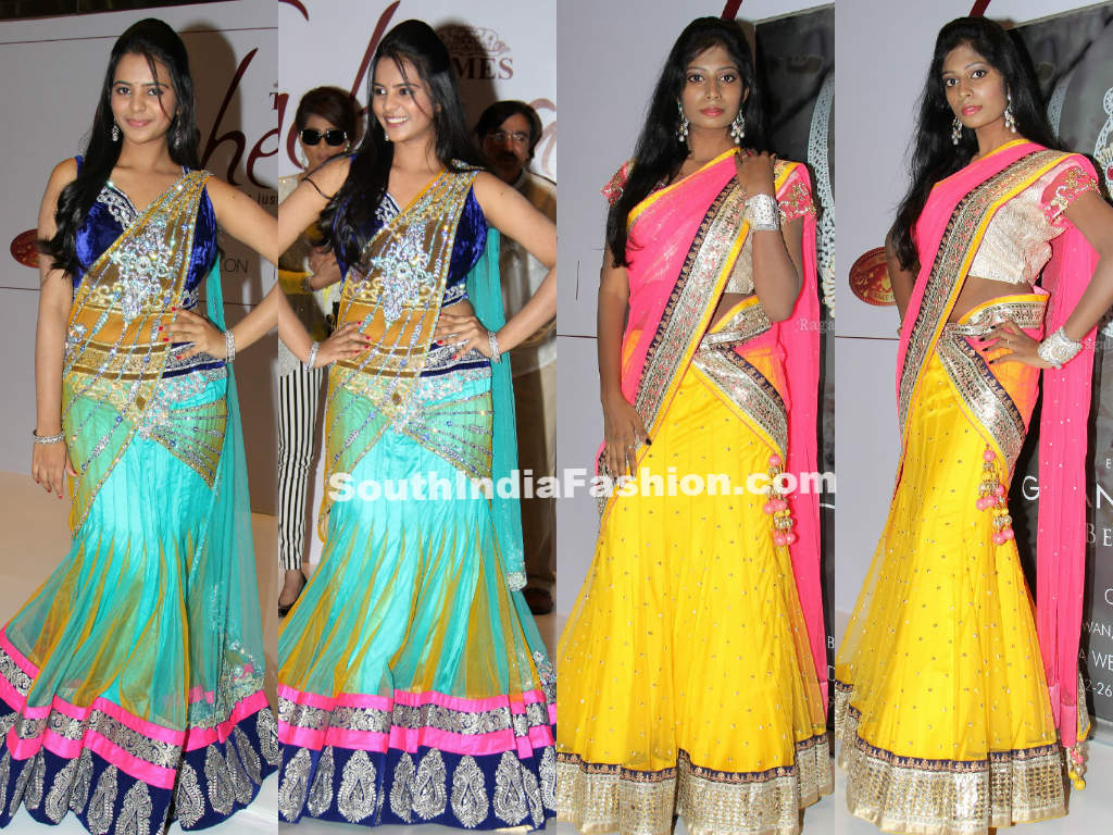 Models Displaying Bridal Collection At Gehena Jewellery