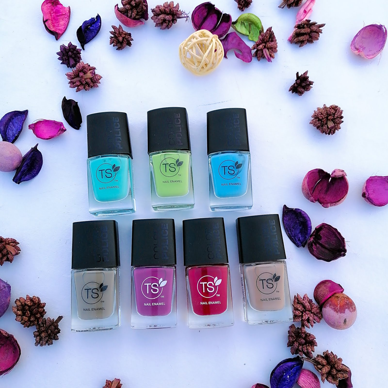TS Color Police Nail Enamel Review & Swatches