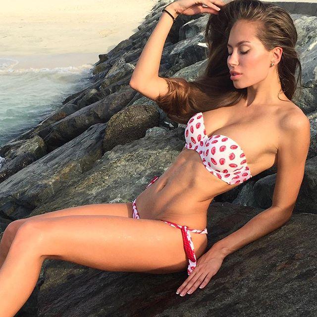 Russian Fitness models Galinka Mirgaeva