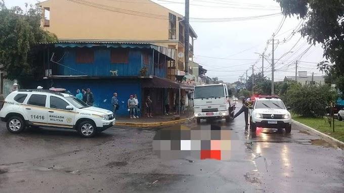 CACHOEIRINHA | Vítima fatal em atropelamento na Avenida Brambila