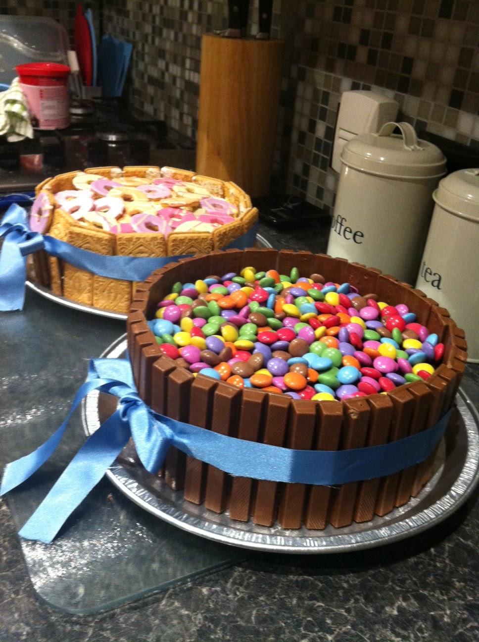 Kitkat Smartie Chocolate Cake Recipe