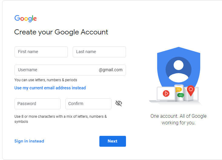 Gmail id kaise banate hai in hindi
