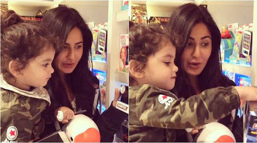 Katrina Kaif goes toy shopping