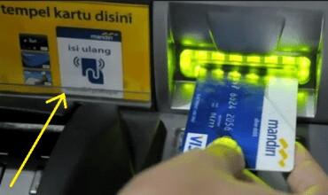 Begini Cara Isi Ulang e - Money Lewat ATM Mandiri