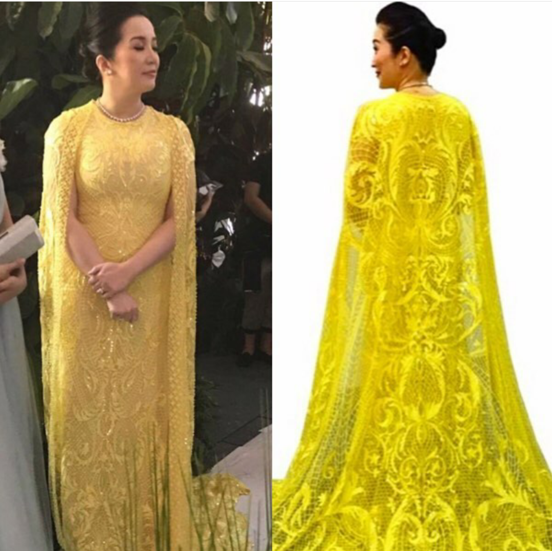 Fashion PULIS: Like or Dislike: Kris Aquino Wearing Michael Cinco ...