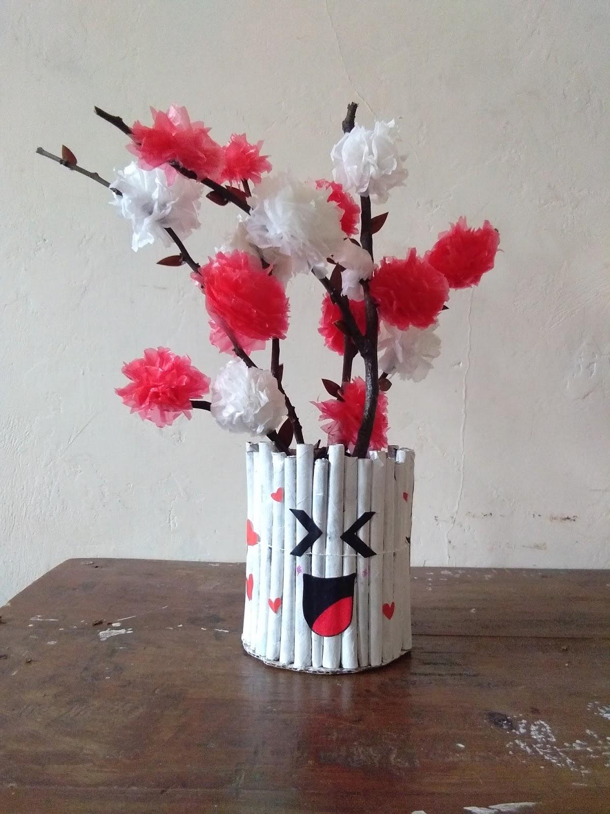 4574ac7b9 Infinitely: Kerajinan Bunga dari Kantong Plastik