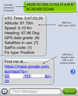 Sam Clarke: Using free SMS for long distance GPS tracking