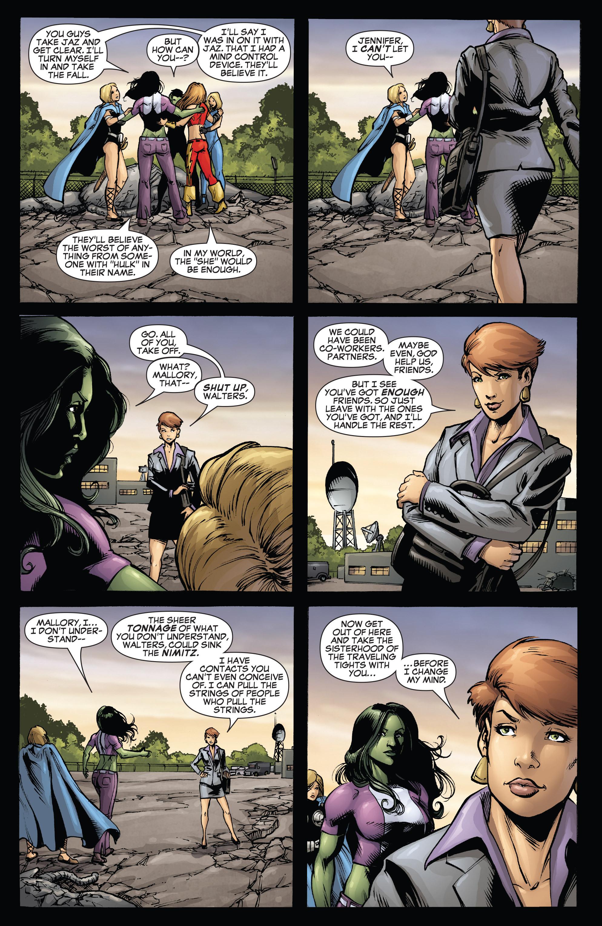 Read online She-Hulk (2005) comic -  Issue #38 - 33