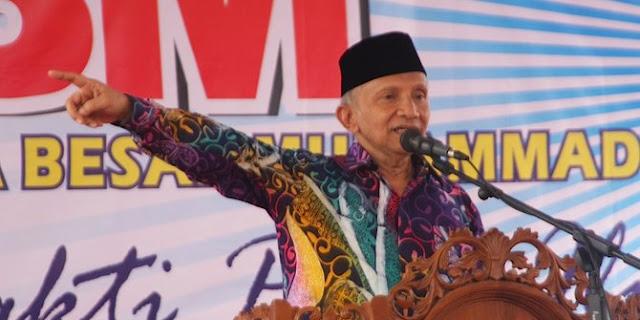 Amien Rais tantang Menteri Luhut adu data soal reklamasi Jakarta