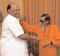 Balasaheb Thackeray Sharad Pawar