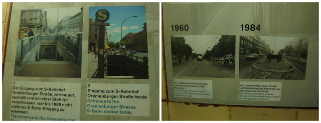 Estações fantasmas na Nordbahnhof, Berlim
