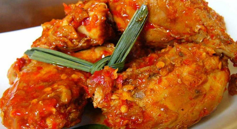 Resep Ayam Rica - Rica Kemangi Bumbu Pedas Manado