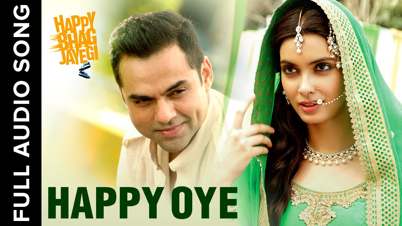 The Happy Oye lyrics from 'Happy Bhag Jayegi', The song has been sung by Harshdeep Kaur, Shahid Mallya, . featuring Diana Penty, Abhay Deol, Jimmy Sheirgill, Ali Fazal. The music has been composed by Sohail Sen, , . The lyrics of Happy Oye has been penned by Mudassar Aziz