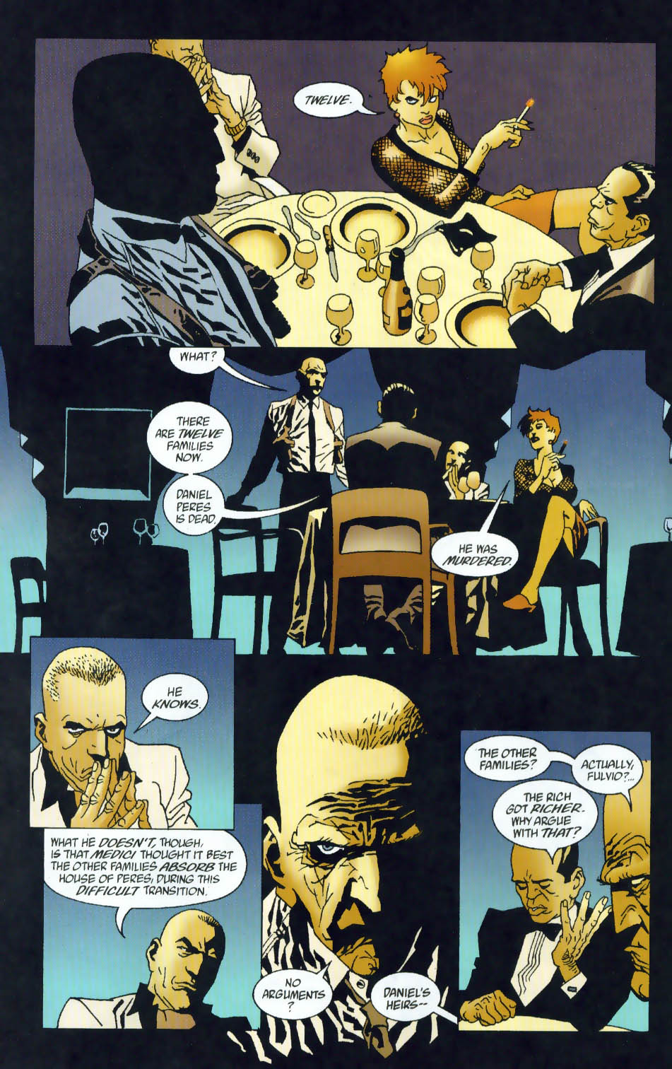 Read online 100 Bullets comic -  Issue #41 - 12