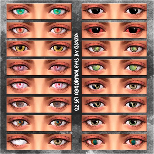 02 set abnormal eyes by glaza