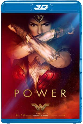 Mujer Maravilla (2017) 3D SBS Latino