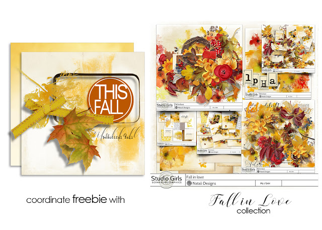 NEW Fall in Love and freebie