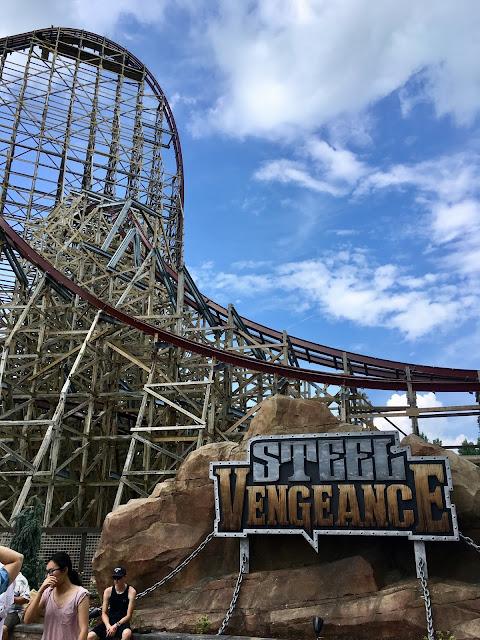 steel vengeance ride review cedar point 2018