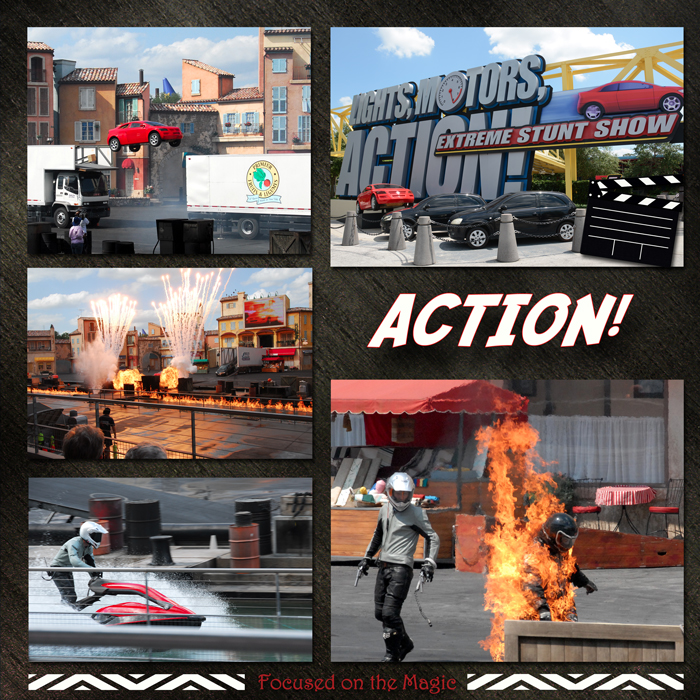Lights, Motors, Action! Extreme Stunt Show | Focused on the Magic |
