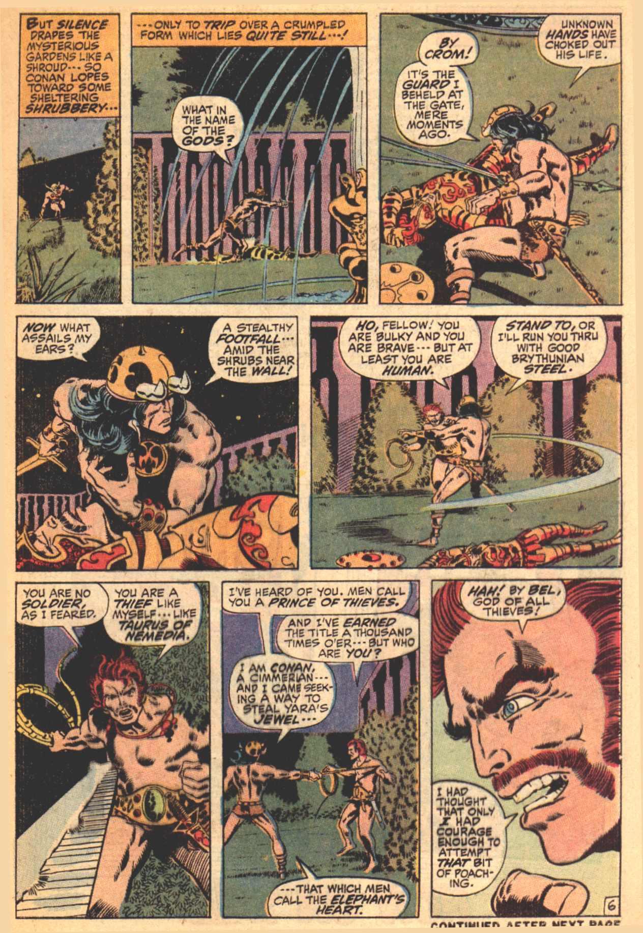 Conan the Barbarian (1970) Issue #4 #16 - English 7