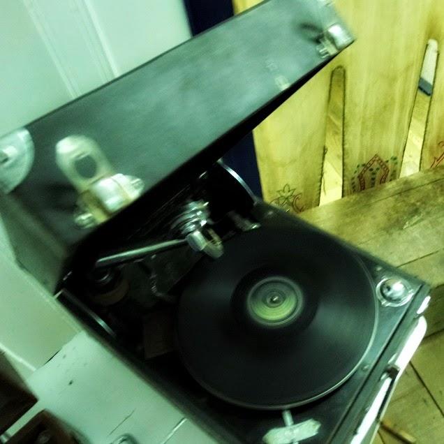 Antigo Toca-discos do Ecomuseu Etnográfico de Ribeirão da Ilha